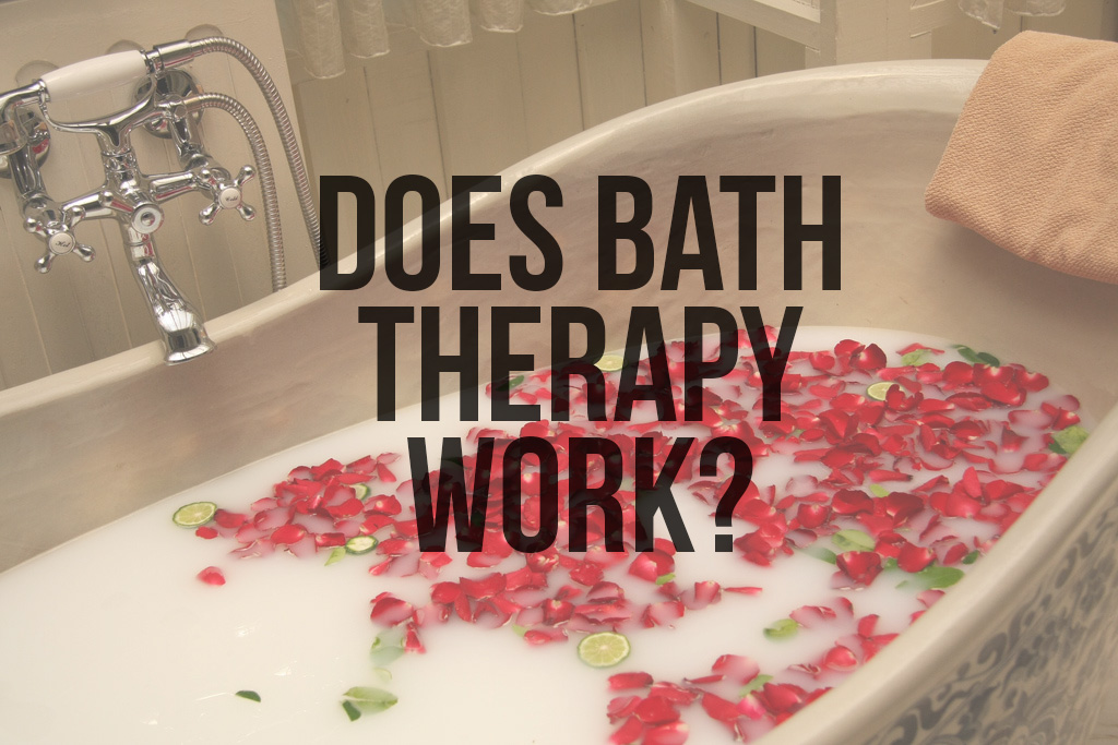 Gorgeous rose petal infuse bath, but could it cure an illness?