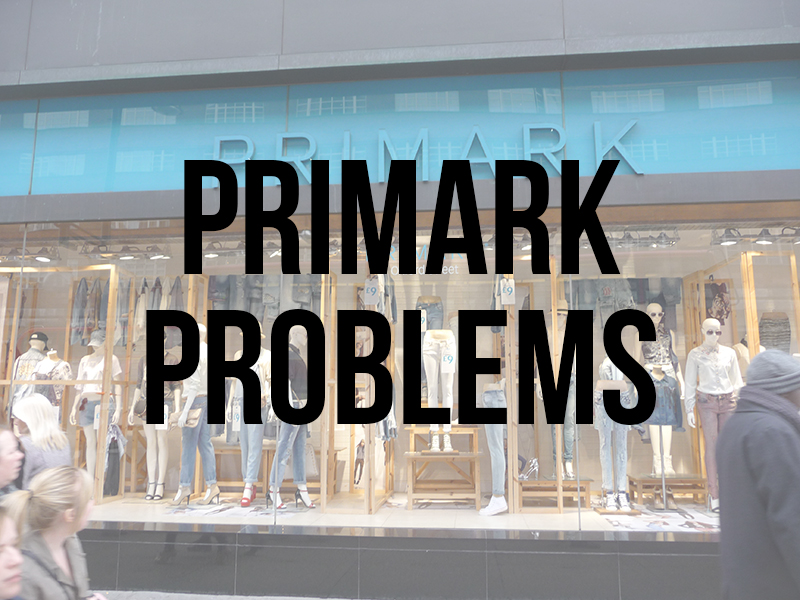 Primark problems