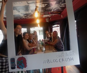 Group photo from the blogger event I hosted in 2015