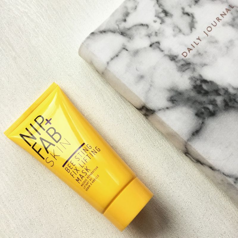 Bee sting facial mask from Nip + Fab