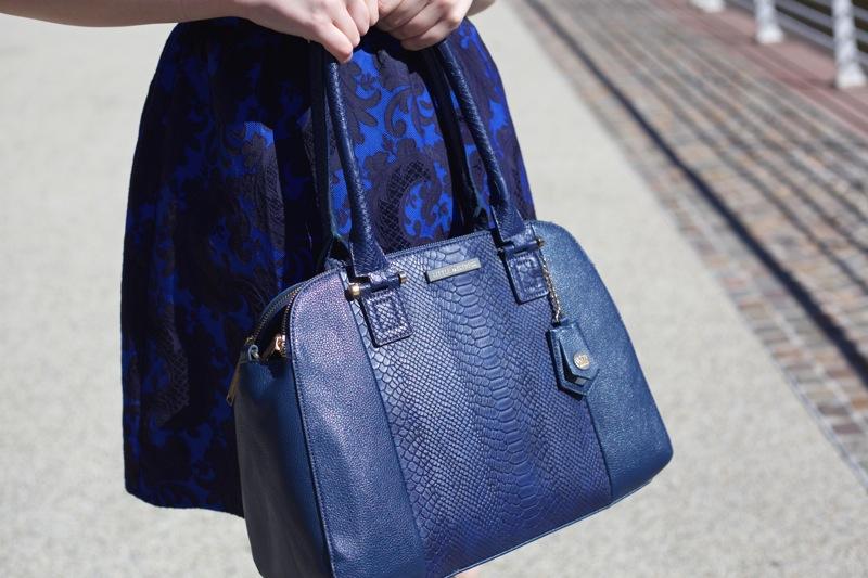 Little Mistress blue bag