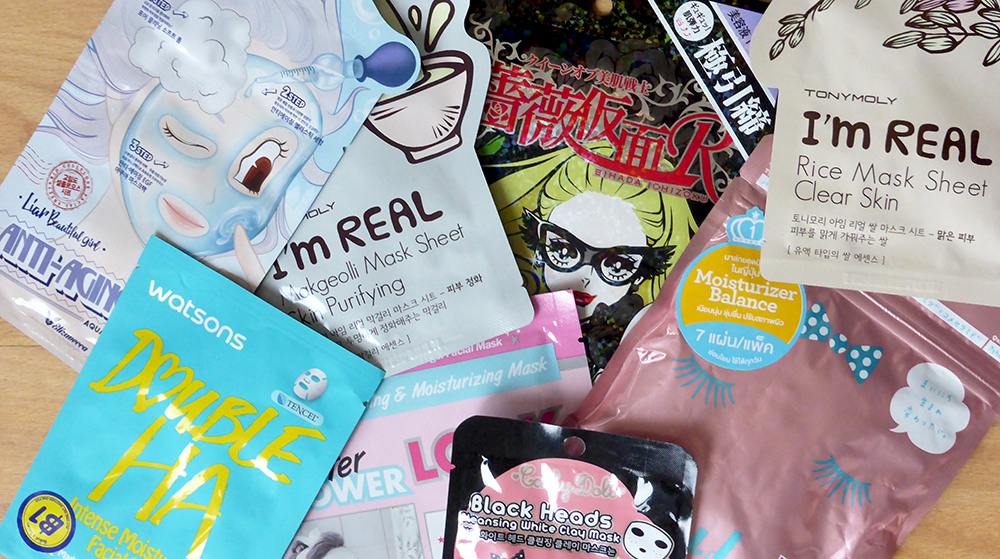 A range of Asian beauty products from Korea, Thailand, Taiwan and Japan.