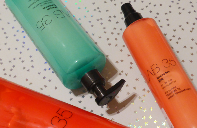 Lab35 Hair milk, signature conditioner and sulfate free shampoo