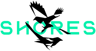 Yourshores.com logo with green text and magpie motif.