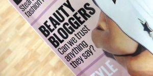 Cosmo was right, you can't always trust beauty bloggers