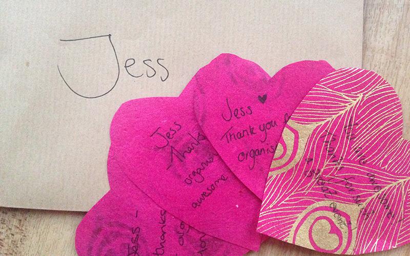 Blog crush love notes