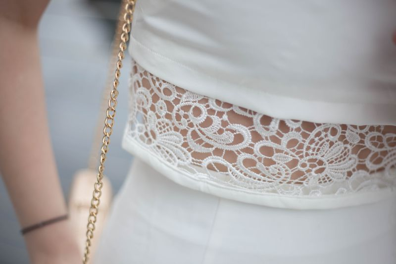 Luxemme white two piece