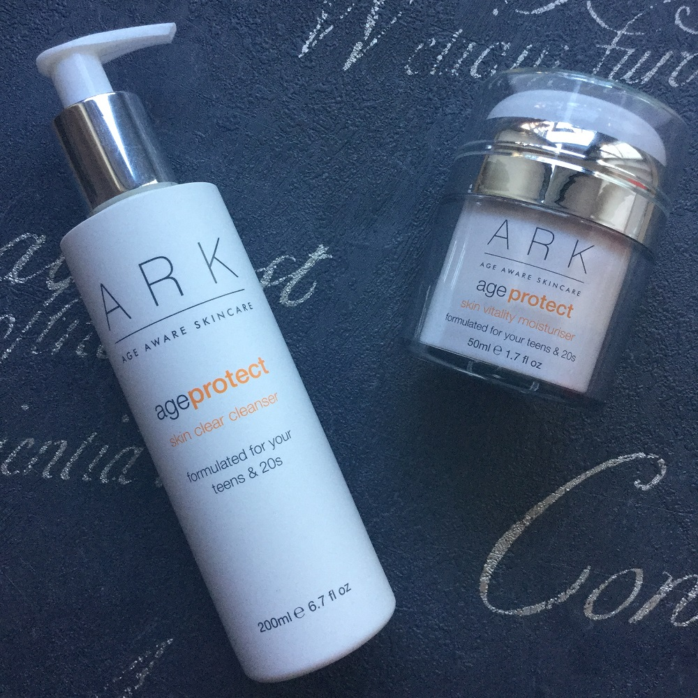 Ark Skincare Age Protect products that were sent for review.